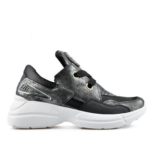дамски ежедневни обувки черни 0136860