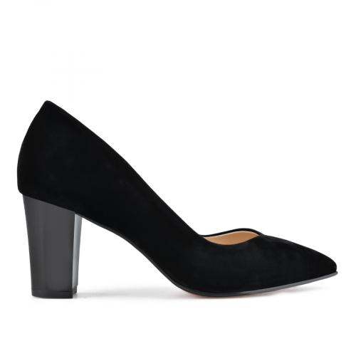 дамски елегантни обувки черни 0138416