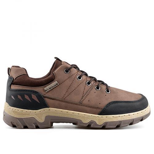 мъжки ежедневни обувки кафяви 0138881