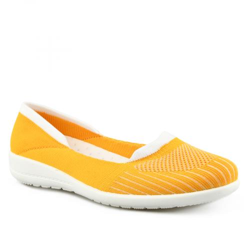 дамски ежедневни обувки жълти 0142017