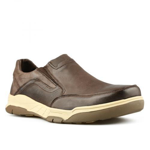 мъжки ежедневни обувки кафяви 0144913