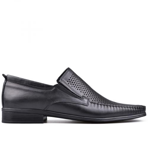 мъжки елегантни обувки черни 0131218