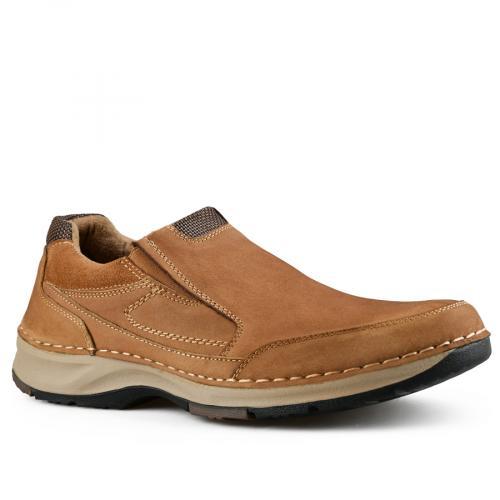 мъжки ежедневни обувки кафяви 0142104