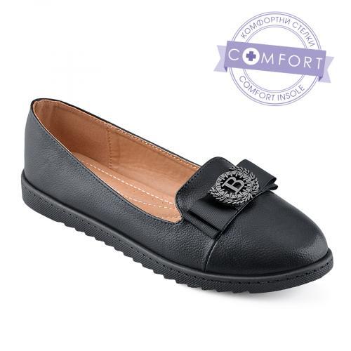 дамски ежедневни обувки черни 0139023