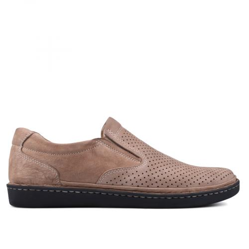 мъжки ежедневни обувки кафяви 0131007