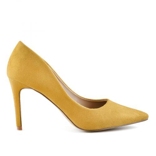 дамски елегантни обувки жълти 0140010