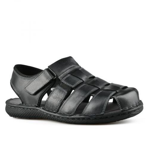 мъжки ежедневни сандали черни 0143320