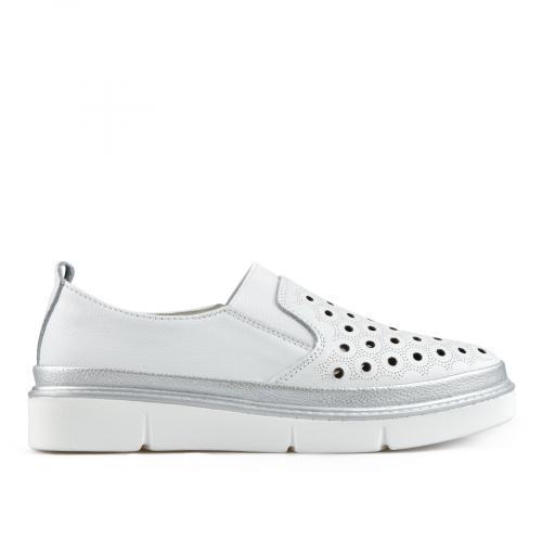 дамски ежедневни обувки бели 0137251