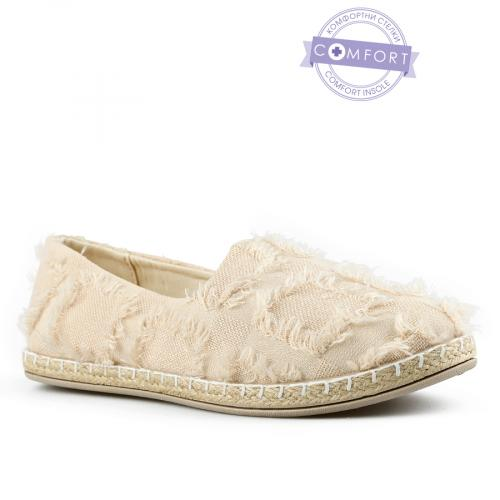 дамски ежедневни обувки бежови 0142570