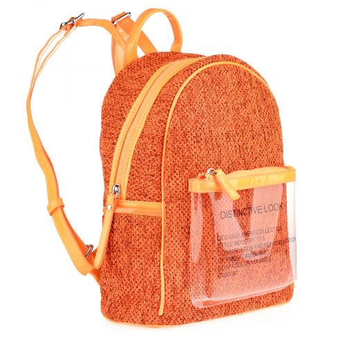 дамска раница оранжева 0140189