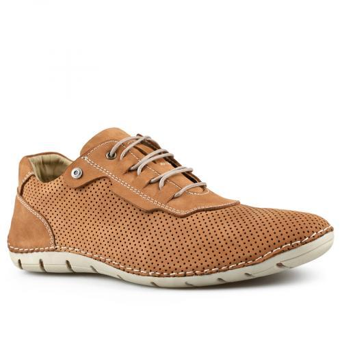 мъжки ежедневни обувки кафяви 0144270