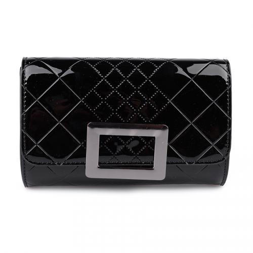 дамска елегантна чанта черна 0123972