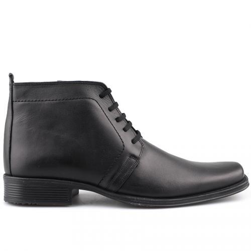 мъжки елегантни боти черни 0109238