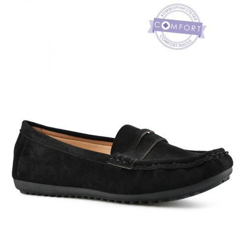 дамски ежедневни обувки черни 0143078