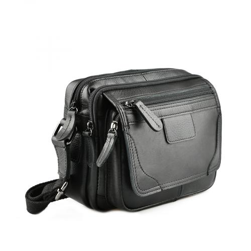 мъжка ежедневна чанта черна 0143866