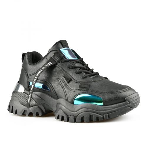 дамски ежедневни обувки черни 0141815