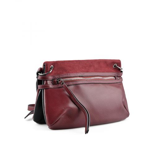 дамска ежедневна чанта червена 0139194