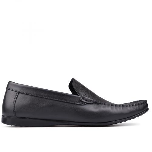 мъжки ежедневни обувки черни 0132031