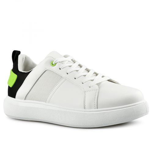 мъжки ежедневни обувки бели 0142623
