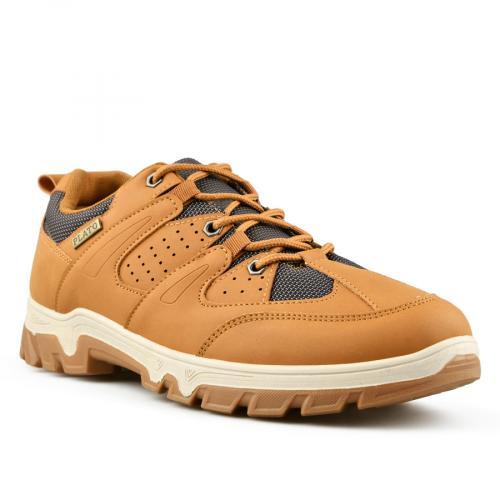 мъжки ежедневни обувки кафяви 0144863