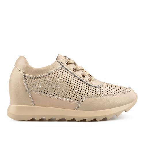 дамски ежедневни обувки бежови 0136495