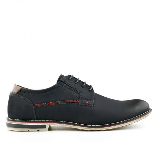 мъжки ежедневни обувки сини 0140631