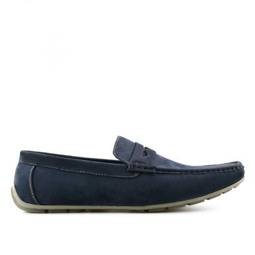 мъжки ежедневни обувки сини 0140531