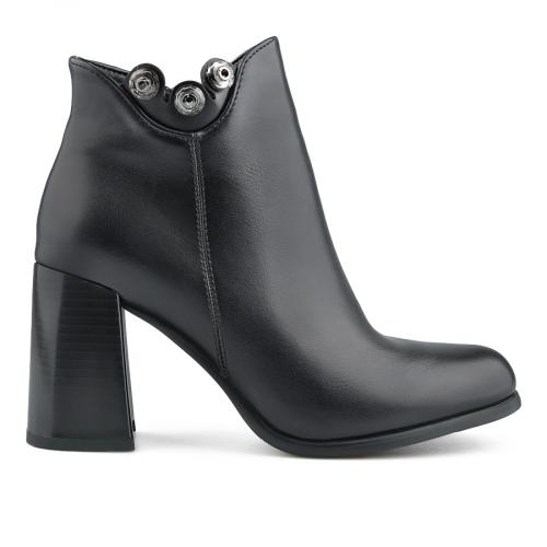 дамски елегантни боти черни 0138791