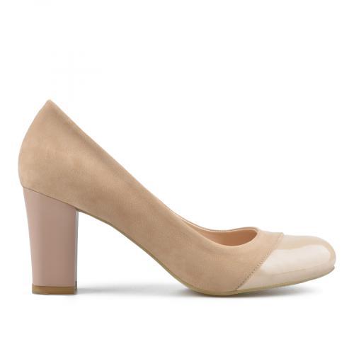 дамски елегантни обувки бежови 0138335