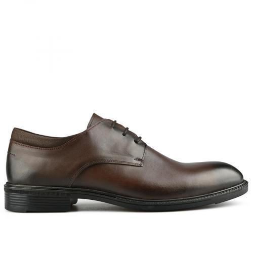 мъжки елегантни обувки кафяви 0142124