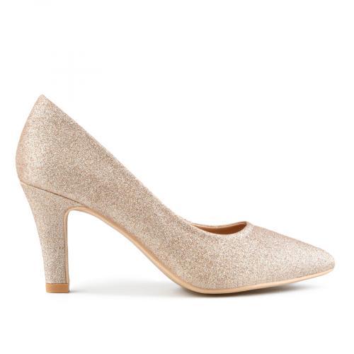 дамски елегантни обувки златисти 0143298