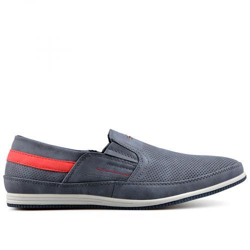 мъжки ежедневни обувки сини 0136990
