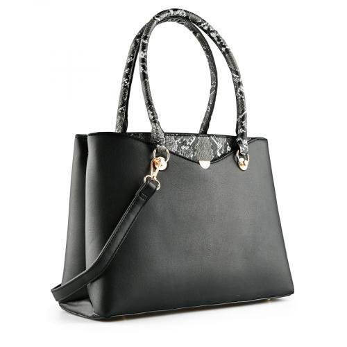 дамска ежедневна чанта черна 0141011