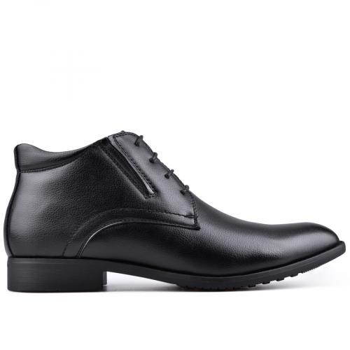 мъжки елегантни боти черни 0128514