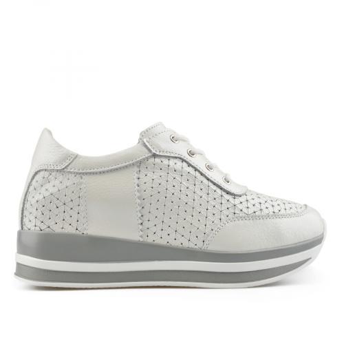 дамски ежедневни обувки бели 0137196