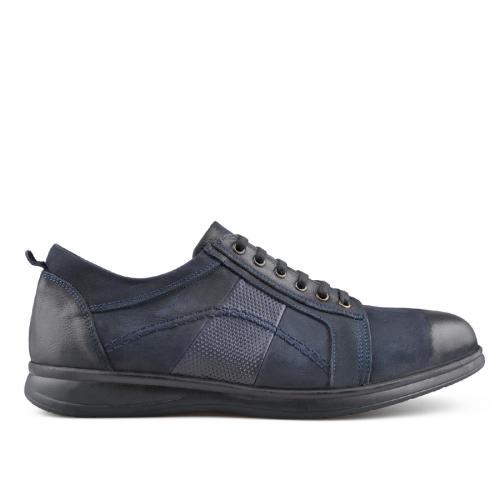 мъжки ежедневни обувки сини 0139507