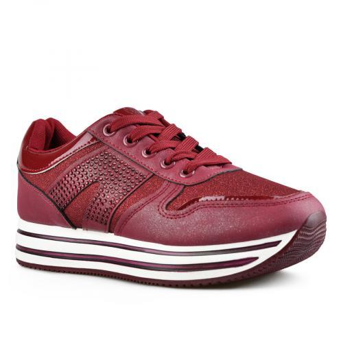 дамски ежедневни обувки червени 0143500