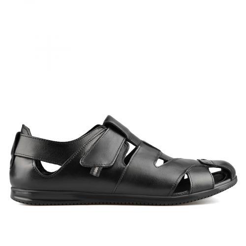 мъжки сандали черни 0138498