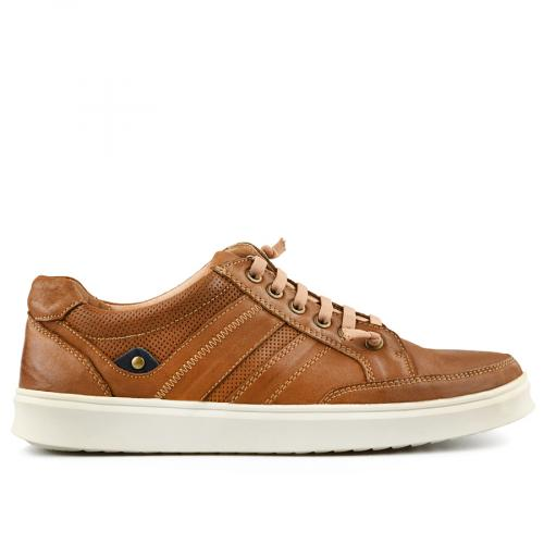 мъжки ежедневни обувки кафяви 0140744