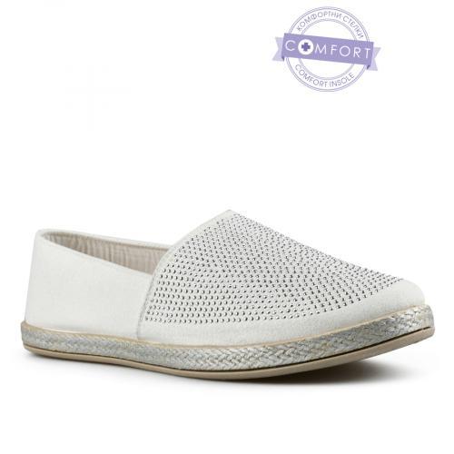 дамски ежедневни обувки бели 0142561