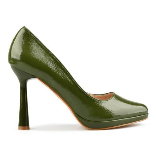 дамски елегантни обувки зелени 0145033