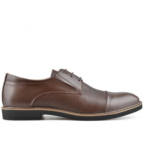 мъжки елегантни обувки кафяви 0138486