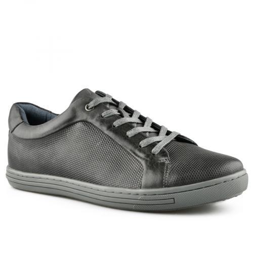 мъжки ежедневни обувки  тъмно сиви 0140746
