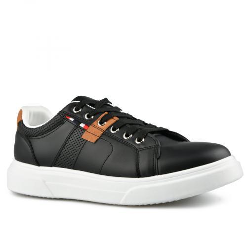 мъжки ежедневни обувки черни 0142628