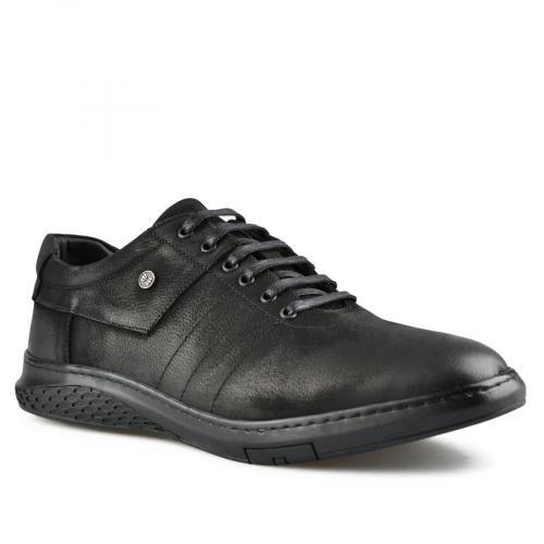 мъжки ежедневни обувки черни 0142209