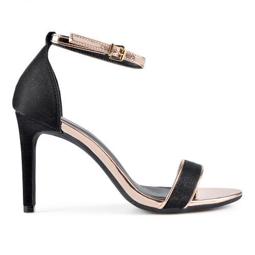 дамски елегантни сандали черни 0137655