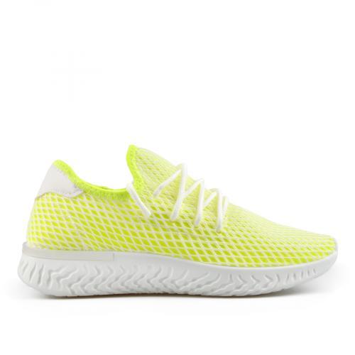 дамски ежедневни обувки жълти 0137864