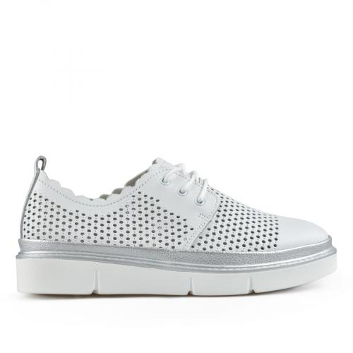 дамски ежедневни обувки бели 0137230