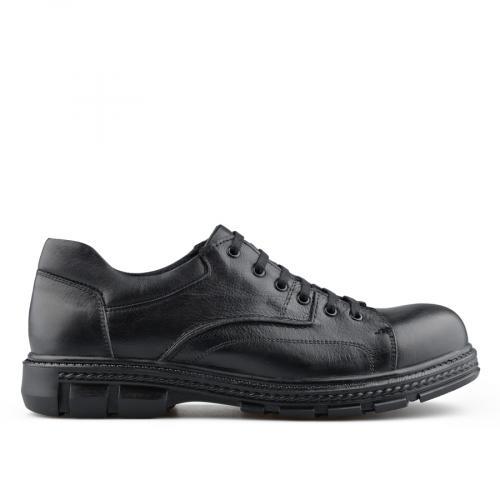 мъжки ежедневни обувки черни 0139724