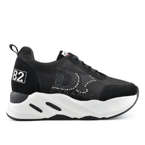 дамски ежедневни обувки черни 0139391